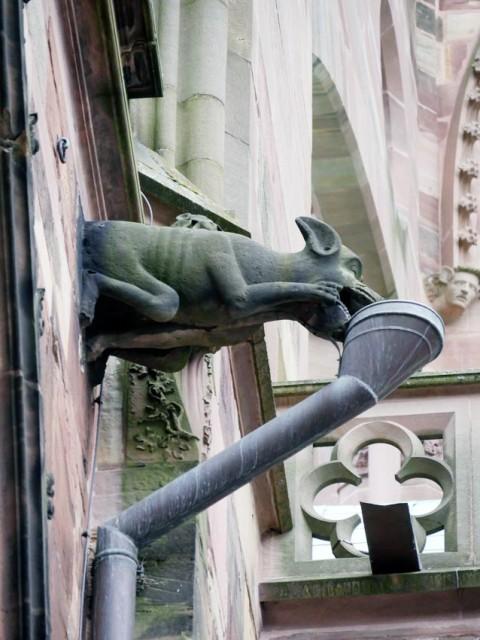 Münster - in Stein gehauene Alchemie: Nützliches Monstersymbol | Bild: Andreas Bubrowski