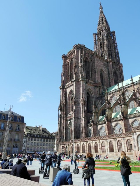 Mit nur einem Turm wirkt der Münster von Strasbourg zeitlos unfertig. Bild: Andreas Bubrowski
