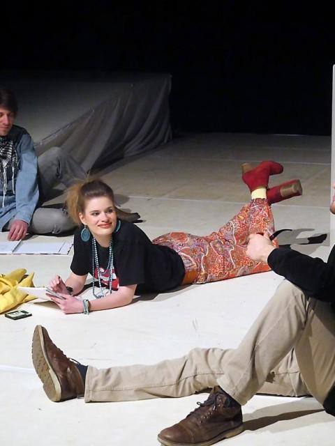 Waggonhalle Produktion 26: Sinnsuche | Andreas Bubrowski