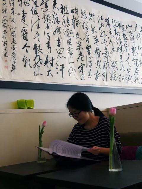 Mao-Zitat im China-Restaurant | Bild: Andreas Bubrowski