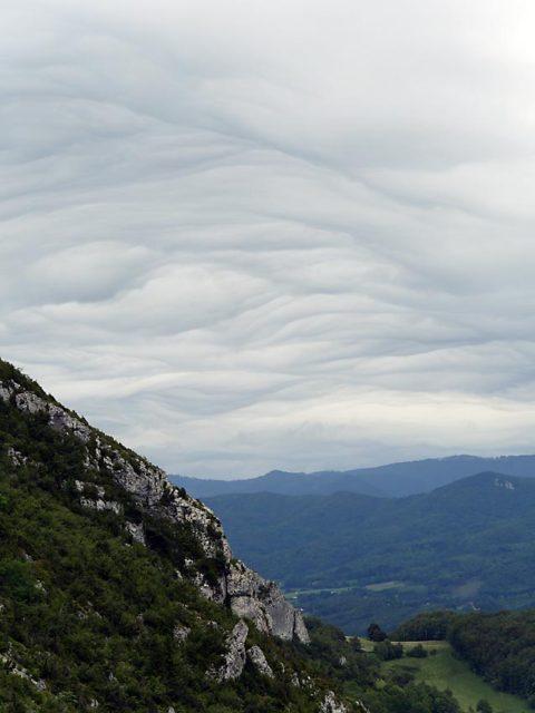 Wolken über Montségur | Bild: Andreas Bubrowski