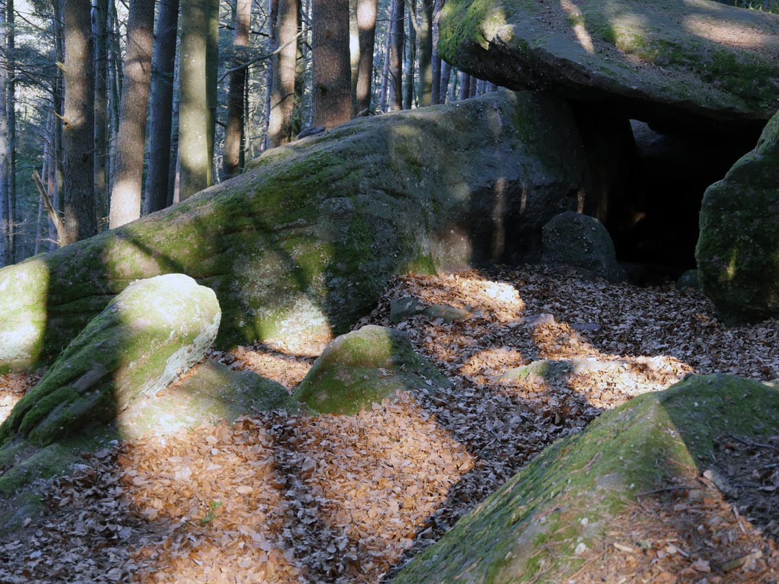 Höhle des Druiden   Bild: Andreas Bubrowski