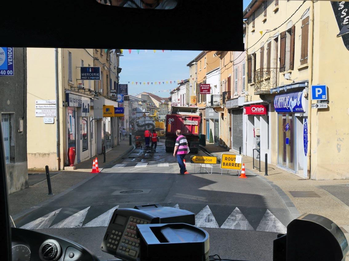 Busfahren in Lyon | Bild: Andreas Bubrowski