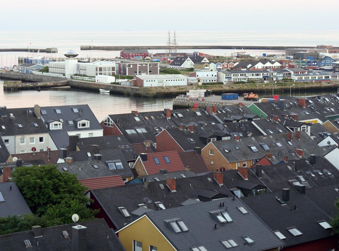 Helgoland: Industriegebiet & Südwesthafen | Foto: Andreas Bubrowski